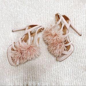 Michael Kors Pink Fluff Heels